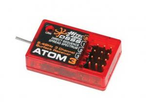 Hitec Atom 3 - 3 Channel 2.4GHz DSSS Micro Receiver