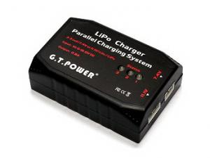 GT POWER Model 2-3 Cell Parallel Charging System RC LiPo Battery Charger BC043