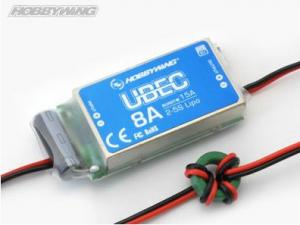 Hobbywing UBEC-8A (5.5-18.5 volt in) 5/6v Out