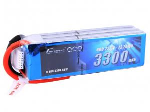 Gens ace 3300mAh 22.2V 60C 6S1P Lipo Battery