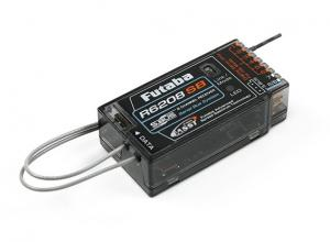 Futaba R6208SB 8-Channel 2.4GHz FASST Hi-Voltage Rx