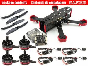 DALRC XR215 4-Axis Carbon Fiber Quadcopter Combo 1