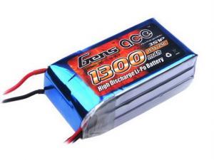 Gens Ace 1300mAh 11.1V 25C 3S1P Lipo Battery Pack
