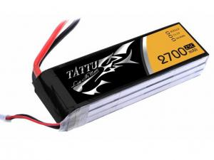 TATTU 2700MAH 11.1V 25C 3S1P Lipo Battery Pack