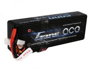 Gens ace 5000mAh 7.4V 50C 2S1P HardCase Lipo Battery #with new packing