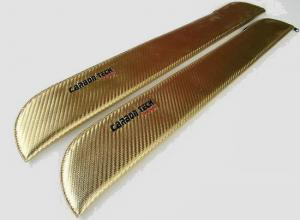 FUN-KEY Rotor Blade Sack for 660mm-720mm (60-91 Class), Gold Color, 1 pair