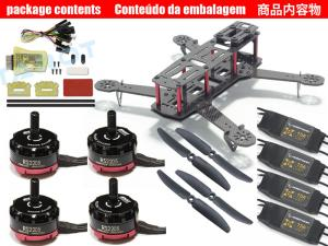 QAV250 FPV quad-copter racing drone/CF RS2205 Combo 3