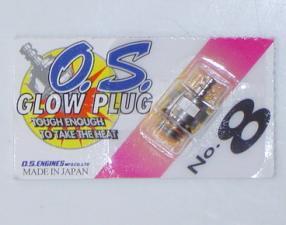OS 8 Glow Plug