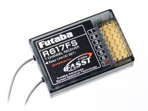 FUTABA R617FS, 2.4G FASST 7CH RECEIVER