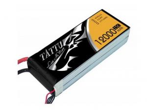 TATTU 12000 MAH 14.8V 15C 4S1P Lipo Battery Pack