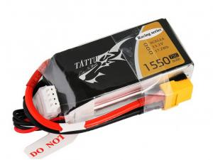 Tattu 1550mAh 11.1V 75C 3S1P Lipo Battery Pack