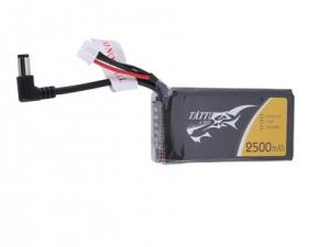 Tattu 2500mAh 2S1P Fatshark Goggles Lipo Battery Pack with DC3.5mm plug