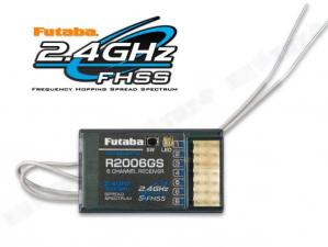 Futaba R2006GS 2.4Gz (6channel Receiver for Futaba 6J Tx)