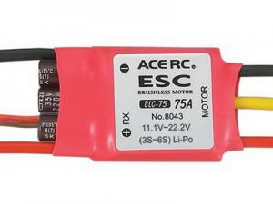 Ace RC BLC-75 Brushless Electronic Speed Control ESC 75A