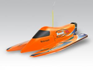 THUNDER TIGER Bandit OBL Electric Powered RTR w/ Pre-painted Hull Cool Design