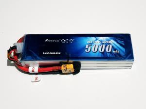 Gens ace 5000mAh 3S1P 11.1V 45C 3S1P Lipo Battery