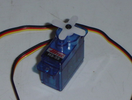 HS-55 Economy Feather Servo Motor (Nylon Gear)