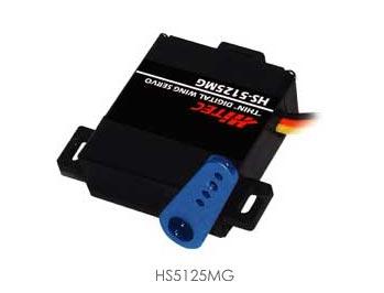 HS-5125MG Digital Thin Wing Servo Motor (Metal Gear)(Programmable)