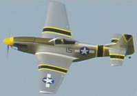 P-51D Mustang ARF 46Pro/or EP 36 Series motors